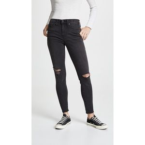 """Madewell distressed 9"""" High Riser  Size 26"""